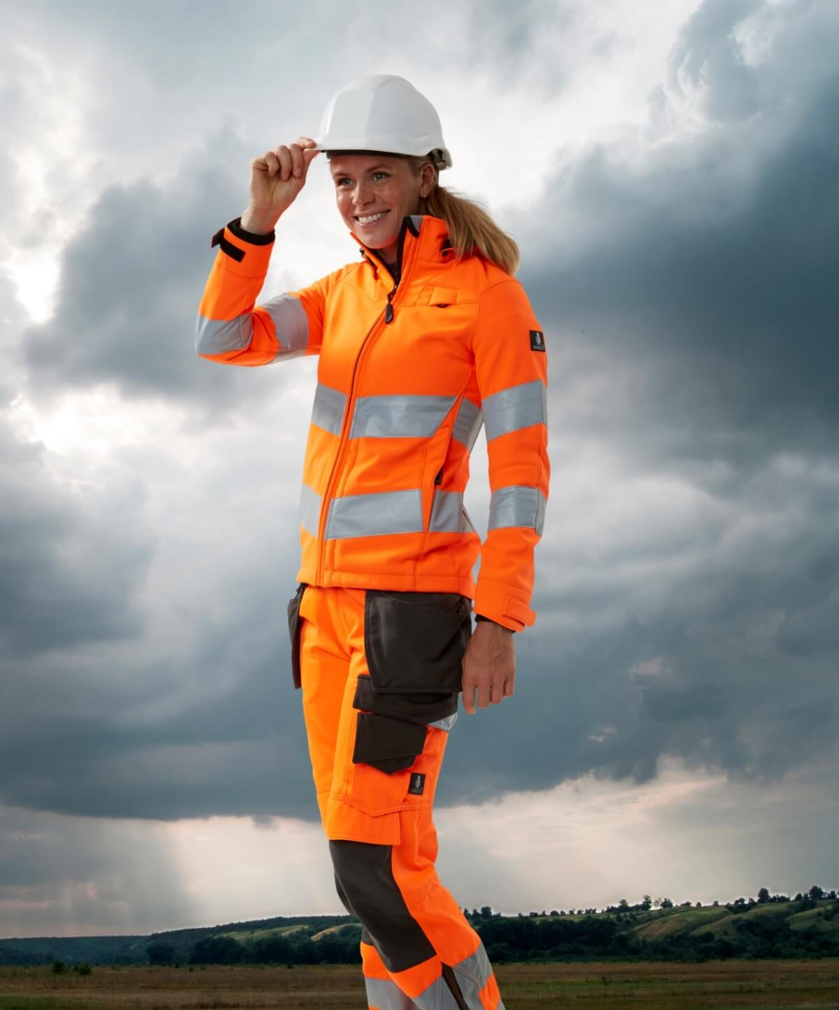 Jacke für Damen  - Hi-Vis Orange - MASCOT® SAFE SUPREME