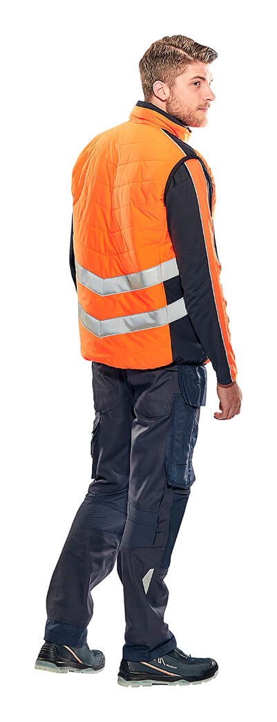 Winterweste, Pullover & Arbeitshose - Hi-Vis Orange - MASCOT® SAFE SUPREME - Model