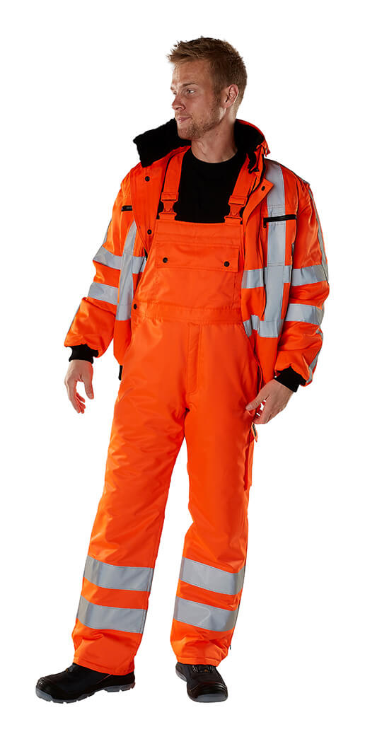 MASCOT® SAFE ARCTIC Winterjacke & Latzhose - Hi-Vis Orange - Model