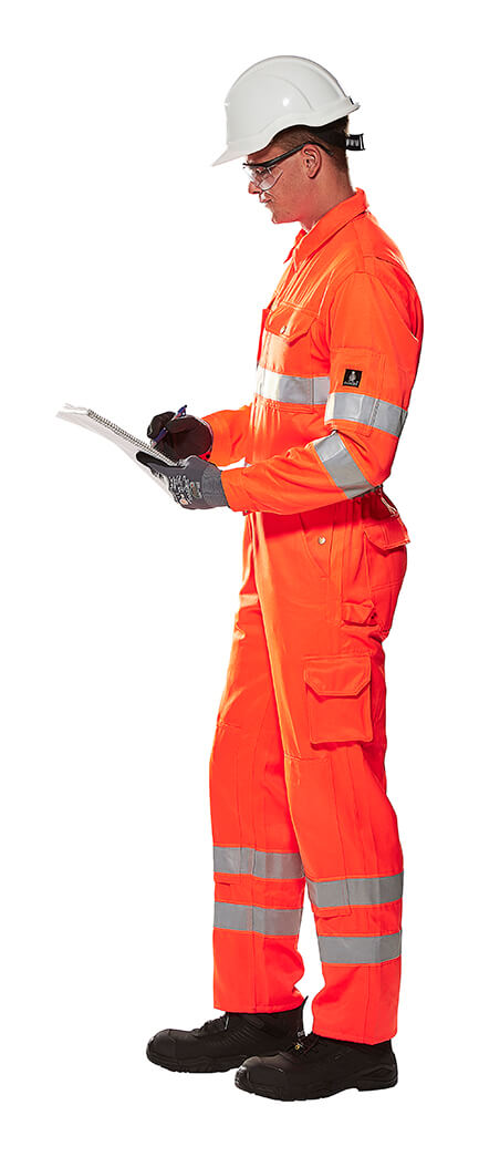 Hi-Vis Orange - Arbeitskleidung - MASCOT® SAFE CLASSIC - Model