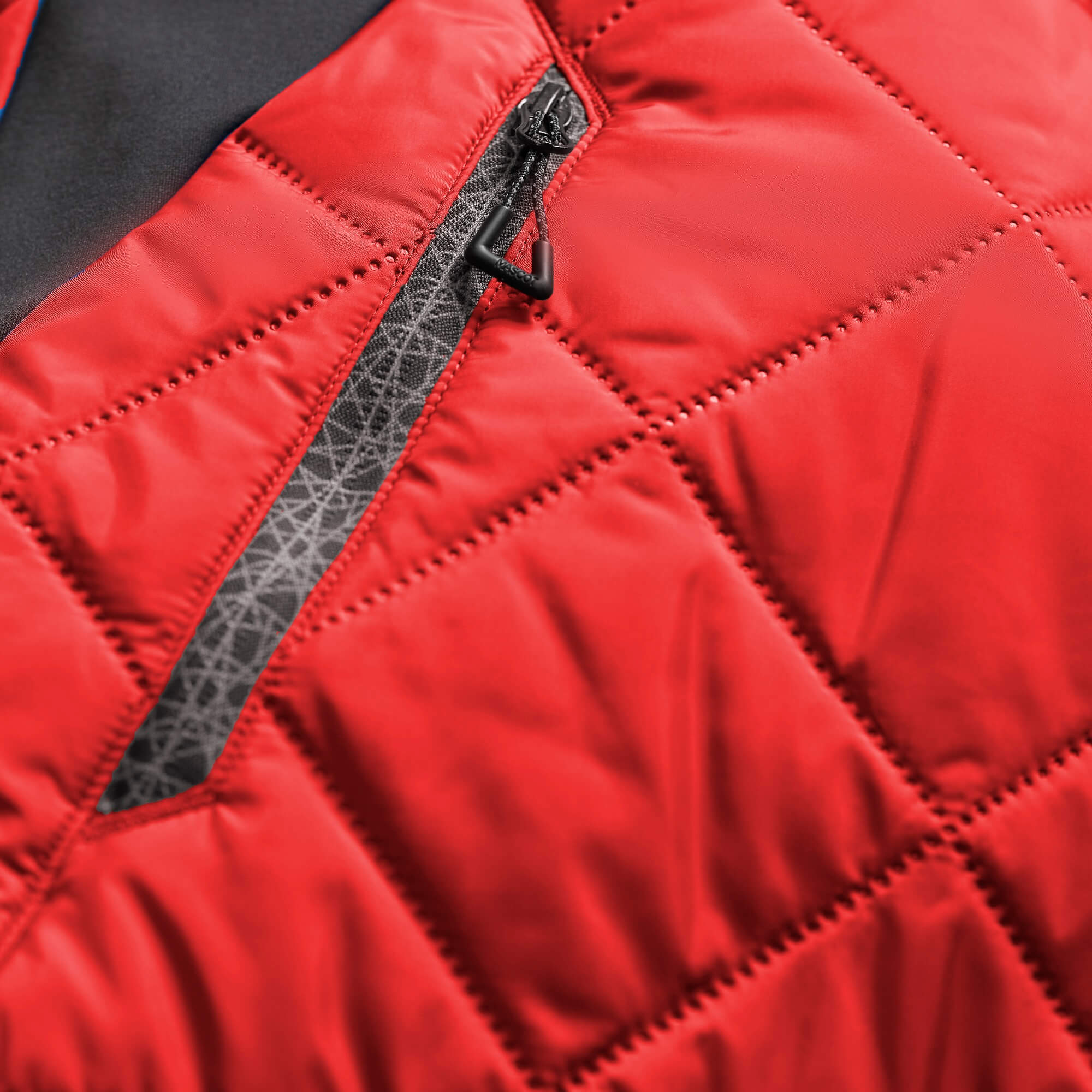 Thermokleidung - Rot - Detail - MASCOT® ACCELERATE