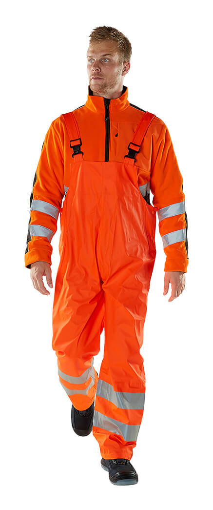 Regenkleidung Hi-Vis Orange - MASCOT® SAFE AQUA - Model