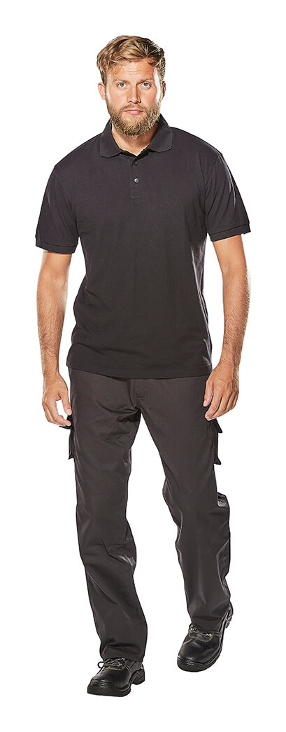 MACMICHAEL® Hose & Arbeits Polo-Shirt - Model